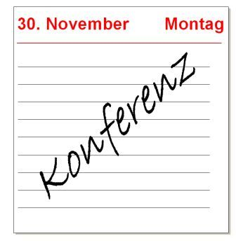 1. Konferenz des Denkerks Zukunft am 30. November 2009